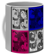 Mickey In Quad Colors Coffee Mug