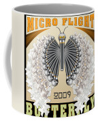 Micro Flight Butterfly Coffee Mug