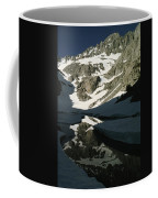 Middle Palisade Peak Reflects In Finger Coffee Mug