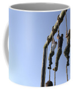 Midshipmen Tackle The Ropes Portion Coffee Mug