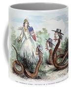 Midwest Copperheads, 1863 Coffee Mug