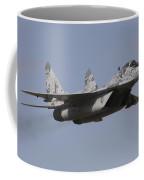Mig-29 Of The Slovak Air Force Coffee Mug