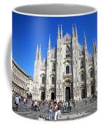Milan Duomo Cathedral Coffee Mug