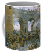 Milanese Chasing Out Austrians Coffee Mug