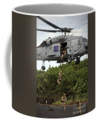 Military Reserve Navy Seals Demonstrate Coffee Mug by Michael Wood