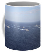Military Ships Transit The Philippine Coffee Mug