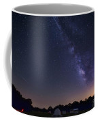 Milky Way And Perseid Meteor Shower Coffee Mug