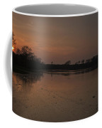 Mill Pond Sunset Coffee Mug