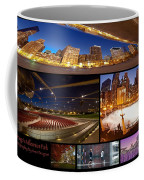 Millennium Park Photo Collage Coffee Mug