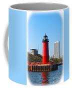 Milwaukee Harbor Lighthouse Coffee Mug