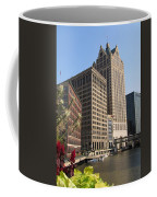 Milwaukee River And Skywalk Coffee Mug