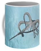 Mimic Octopus Parachuting Down, North Coffee Mug