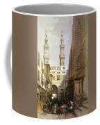 Minarets And Grand Entrance Of The Metwaleys At Cairo Coffee Mug