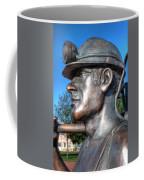 Miner Statue Coffee Mug