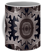 Mirror Gears Coffee Mug by Steve Gadomski