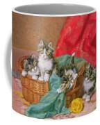 Mischievous Kittens Coffee Mug