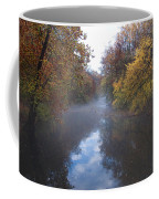 Mist Along The Wissahickon Coffee Mug