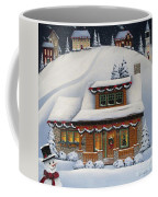 Mistletoe Cottage Coffee Mug