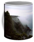 Mists Along The Kalalau Valley Coffee Mug