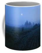 Misty Farm Landscape Coffee Mug
