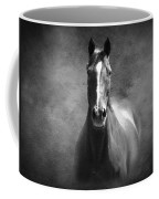 Misty In The Moonlight Bw Coffee Mug