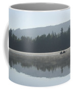 Misty Morning Fishing Coffee Mug