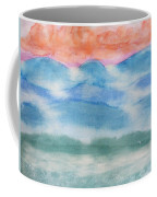 Misty Morning On Blue Hills Coffee Mug