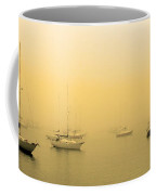 Misty Mystic Boats 1 Coffee Mug