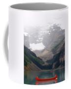 Misty Paddle - Lake Louise, Alberta Coffee Mug