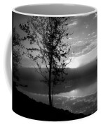 Misty Reflections Bw Coffee Mug