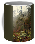 Misty Tree Coffee Mug