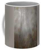 Misty Woods In Autumn Coffee Mug