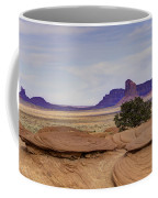 Mitchell Butte From Mystery Valley Coffee Mug