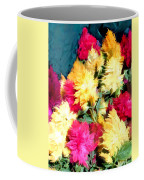 Mixed Celosias In Fall Colors Coffee Mug