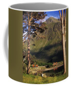 Mobile Homes At A Lakeside In Front Of Coffee Mug