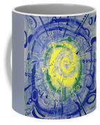 Modern Art Five Coffee Mug
