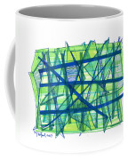 Modern Drawing Ninety-nine Coffee Mug
