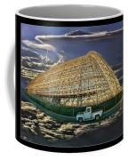 Moffett Field Hangar One And Truck Coffee Mug