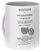 Moliere (1622-1773) Coffee Mug