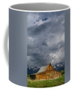 Molton Barn And Approaching Storm Coffee Mug