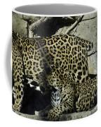 Mom And Baby Cheetah Coffee Mug