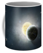 Moments Before A Total Eclipse Coffee Mug by Tomasz Dabrowski