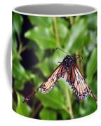 Monarch Butterfly In Flight Coffee Mug