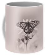 Monarch On Sunflower Coffee Mug