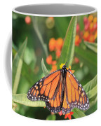 Monarch Sipping Coffee Mug