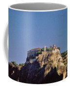 Monastery At Meteora Greece Coffee Mug