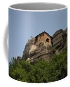 Monastery Of Saint Nicholas Anapafsas Coffee Mug