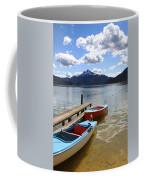 Mondsee Lake Boats Coffee Mug