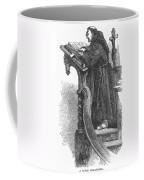 Monk Preaching Coffee Mug
