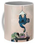 Monkey Stealing An Apple Coffee Mug